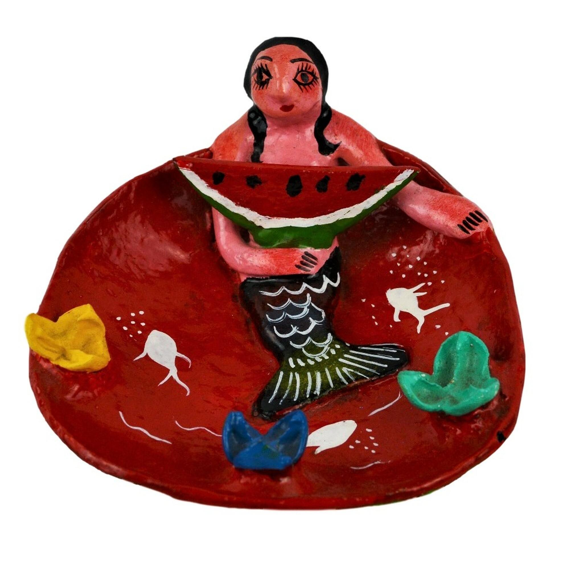Mermaid Coconut Doll