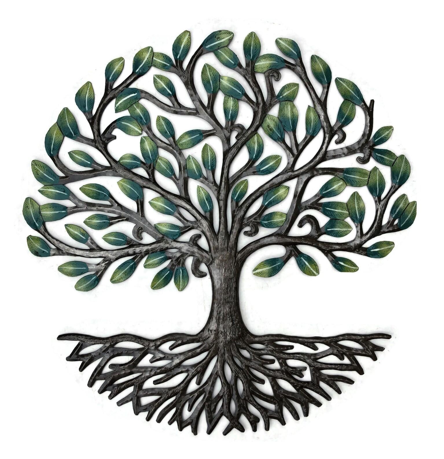 Green Metal Tree of Life